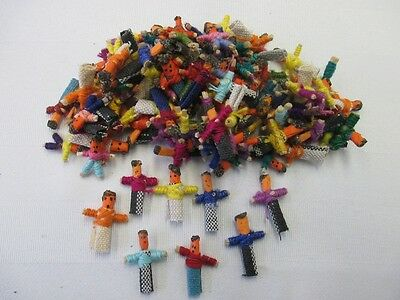 Lot of 150 Individual Worry Dolls - Handcrafted in Guatemala