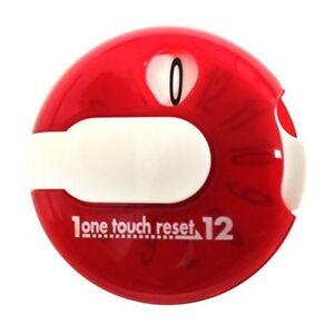 EZ-Stroke-Score-Keeper-Strokecounter-Attaches-to-your-golf-glove-Red