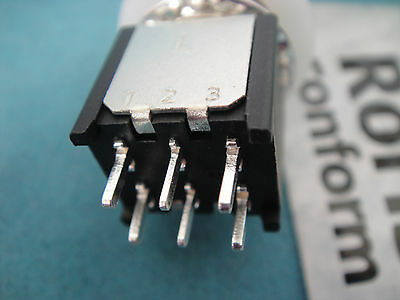 Lot-5 6-pin DPDT Guitar Effects Pedal Stomp Foot Metal Switch Momentary 12MM M6P