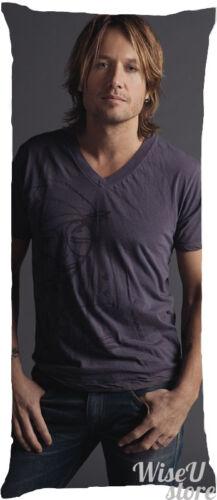 Keith Urban Dakimakura Full Body Pillow case Pillowcase Cover Singer