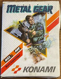 Konami RC750 Metal Gear MSX2 Game