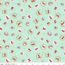 Riley Blake Farmhouse Floral by Nancy Zienman C6880 Cream Floral  Fabric BTY