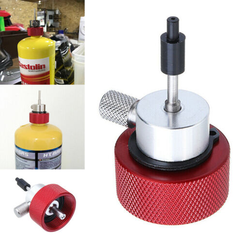 Airsoft Propane Filling Refill Adapter for Green Gas Tank W// Silicone Oil Port