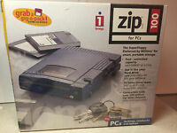 Sealed Iomega Zip Plus 100 - Scsi Or Parallel Port - In Box Fast Free Ship