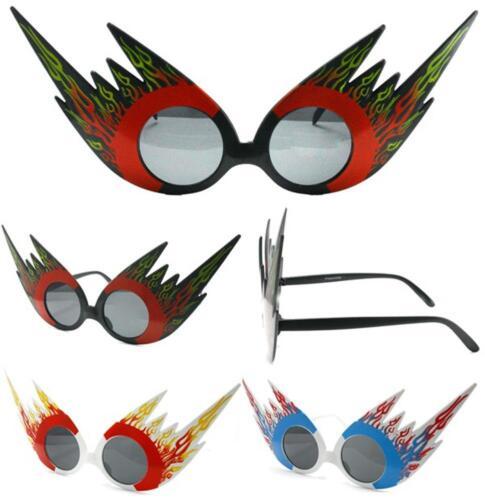 2 pair FLAMES NOVELTY PARTY GLASSES sunglasses #284 men ladies NEW eyewear glass