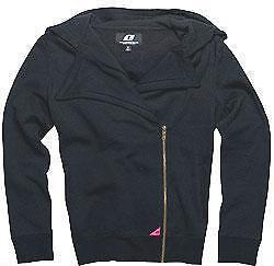 One Industries Girls Number One Hoodie Sweatshirt Black Silver Grey MX ATV Moto
