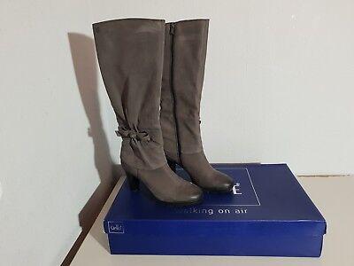 CAPRICE Damen Stiefel ; Modell: 9 25523 27 ; Gr. 37,5 ; Nubukleder grau NEU !   eBay