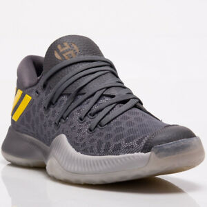 bb2f183db68 adidas Harden B E Men s New Grey Yellow Basketball Shoes Last Size ...