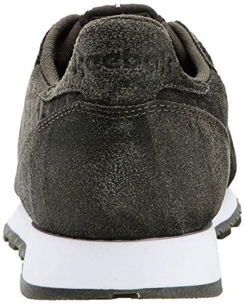2feb236ee2b263 Reebok Men s CL Leather CTE Fashion Sneaker 9 D(m) US Army Green ...