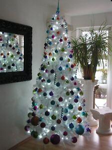 riesen xl weihnachtskugeln glitzer lila pink orange gr n. Black Bedroom Furniture Sets. Home Design Ideas