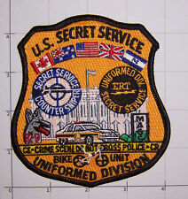 US Secret Service Bike Unit Patch USSS Uniformed Division