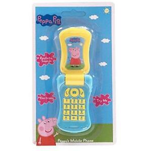New-Peppa-Pig-Electronic-Mobile-Flip-Phone-With-Sounds
