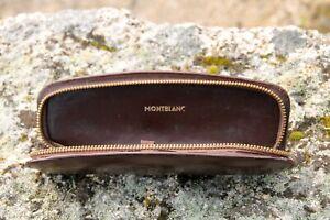 Avoir Un Esprit De Recherche Montblanc Case Leather -years 1950 Une Large SéLection De Couleurs Et De Dessins