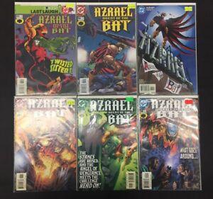 Azreal-Agent-Of-The-Bat-83-87-amp-90-DC-Comics-Lot-120-Mystery-Signed-Comic