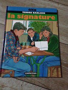 TENDRE-BANLIEUE-la-signature-EO-1993-Tito-casterman