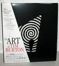 New Sealed SIGNED Tim Burton The Art of Deluxe 3rd ED Clown Lithograph Slipcase