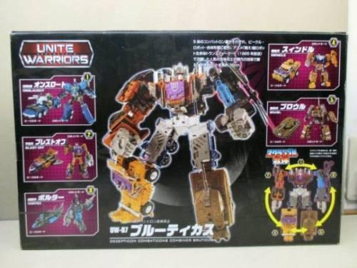 PSL Takara Tomy Transformers Unite Warriors UW07 Action Figure Bruticus F//S