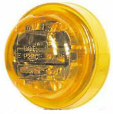 """Truck-Lite 10275Y Amber 2-1/2"""" LED Marker Clearance Lamp Light PL10 Connector"""