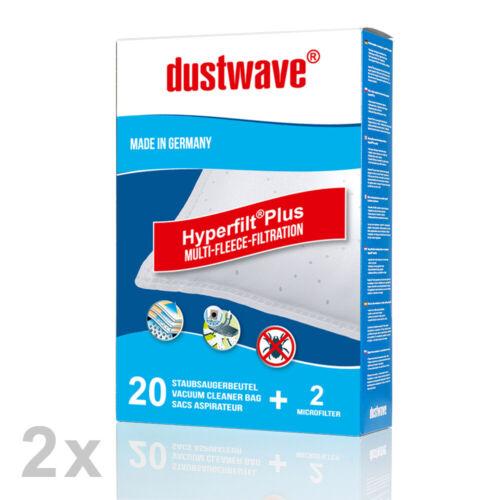 1-40 Staubsaugerbeutel für Hoover Telios Plus TE70 TE20084 und TE70/_TE75 011