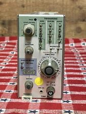 Tektronix 7b70 Time Base Plug In For 7000 Series Oscilloscopes