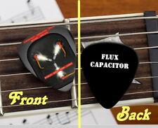 Back To The Future Flux Capacitor Set of 3 premium Promo Guitar Pick Pic
