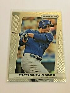 2013-Panini-Prizm-Baseball-Base-Card-Anthony-Rizzo-Chicago-Cubs