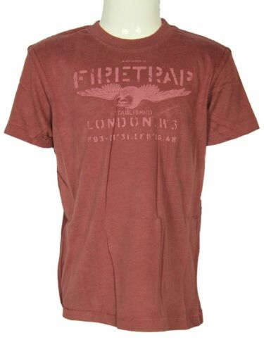 Firetrap Boys Short Sleeve T Shirts Cotton Designer Printed Crew Neck Summer Tee