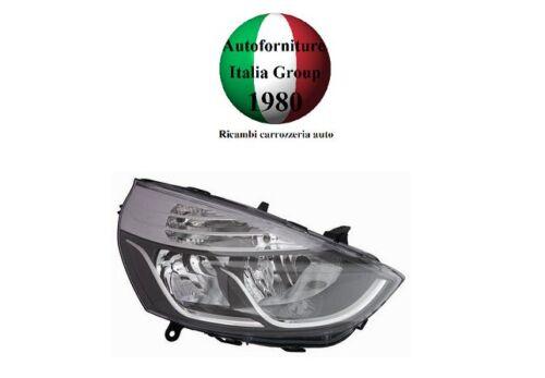 FARO FANALE PROIETTORE ANTERIORE DX P//NERA B//CROMATO RENAULT CLIO 12/> DAL 2012/>
