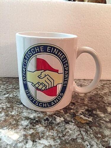 """/""""Sozialistische Einheitspartei Deutschlands/"""" SED Coffee Mug EAST GERMAN DDR"""