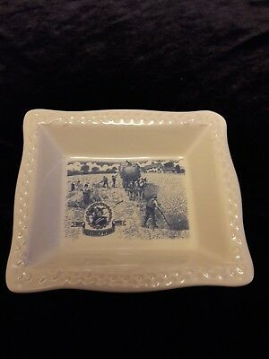 Cereal Centenary 1892-1992 Vintage SHREDDED WHEAT BOWL Blue and White