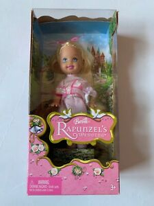 Barbie-Rapunzel-039-s-Wedding-Kelly-Doll-2005-Mattel