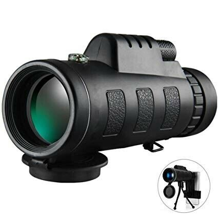40X60 MONOCULAR with Tripod and phone holder