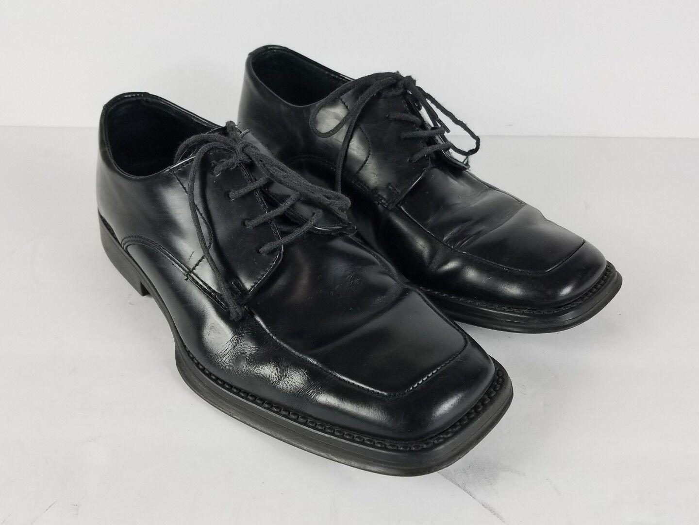 Kenneth Cole Reaction Dress Sim-plicity moc-toe oxfords 7.5 M Black