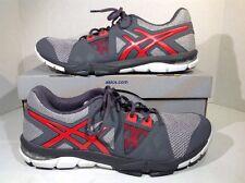 Asics Mens Size 11 Gel Craze TR 3 Gray Orange Athletic Shoes Sneakers ZI-751