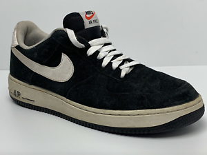 online store 25634 f95df Details about Right Shoe Only Nike Air Force 1 Mens 9.5 Suede Black Low  488298-064 Amputee