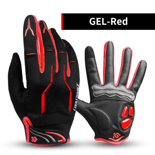 Antiskid Cycling Gloves Bike Full Finger Gloves Winter Sports Gloves Touchscreen