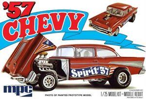 MPC-904-1957-Chevy-Bel-Air-Flip-Nose-Spirit-of-57-plastic-model-kit-1-25