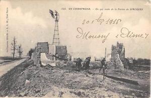 CPA-51-EN-CHAMPAGNE-CE-QUI-RESTE-DE-LA-FERME-DE-WACQUES