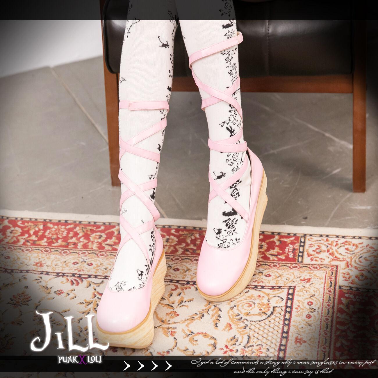 sconto di vendita Lolita Kera NANA Ballerina Doll Strappy strap platform platform platform heel scarpe JAN9954  popolare
