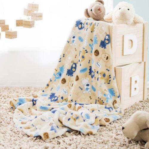 Lightweight Puppy Baby Boy Soft Blanket by Vianney