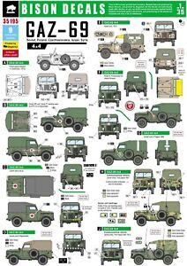 Bison-Decals-1-35-GAZ-69-Poland-Czech-USSR-Israel-Syria-35195