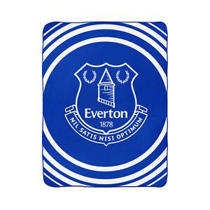 ffe713fa8a9 Everton Football Club Pulse Design Blue Fleece Blanket 5051586001344 ...