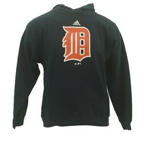 Kids-Youth-Size-Detroit-Tigers-Official-Adidas-MLB-Sweatshirt-New-With-Tags