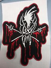 Metallica Embroidered Skull back patch bloody skull NEW USA SELLER FAST DELIVERY