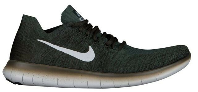 NEW Nike Free RN Flyknit Men Running shoes Size 11 Vintage Green Platinum