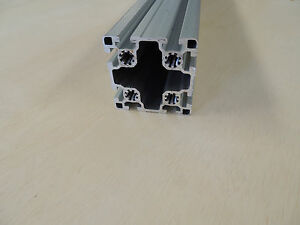 Image Is Loading 80 20 Extruded Aluminum Square Profile 90mm X