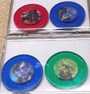 Vintage-Star-Wars-Poker-Chip-Set-of-4-Colored-Plastic-Chips-in-Case