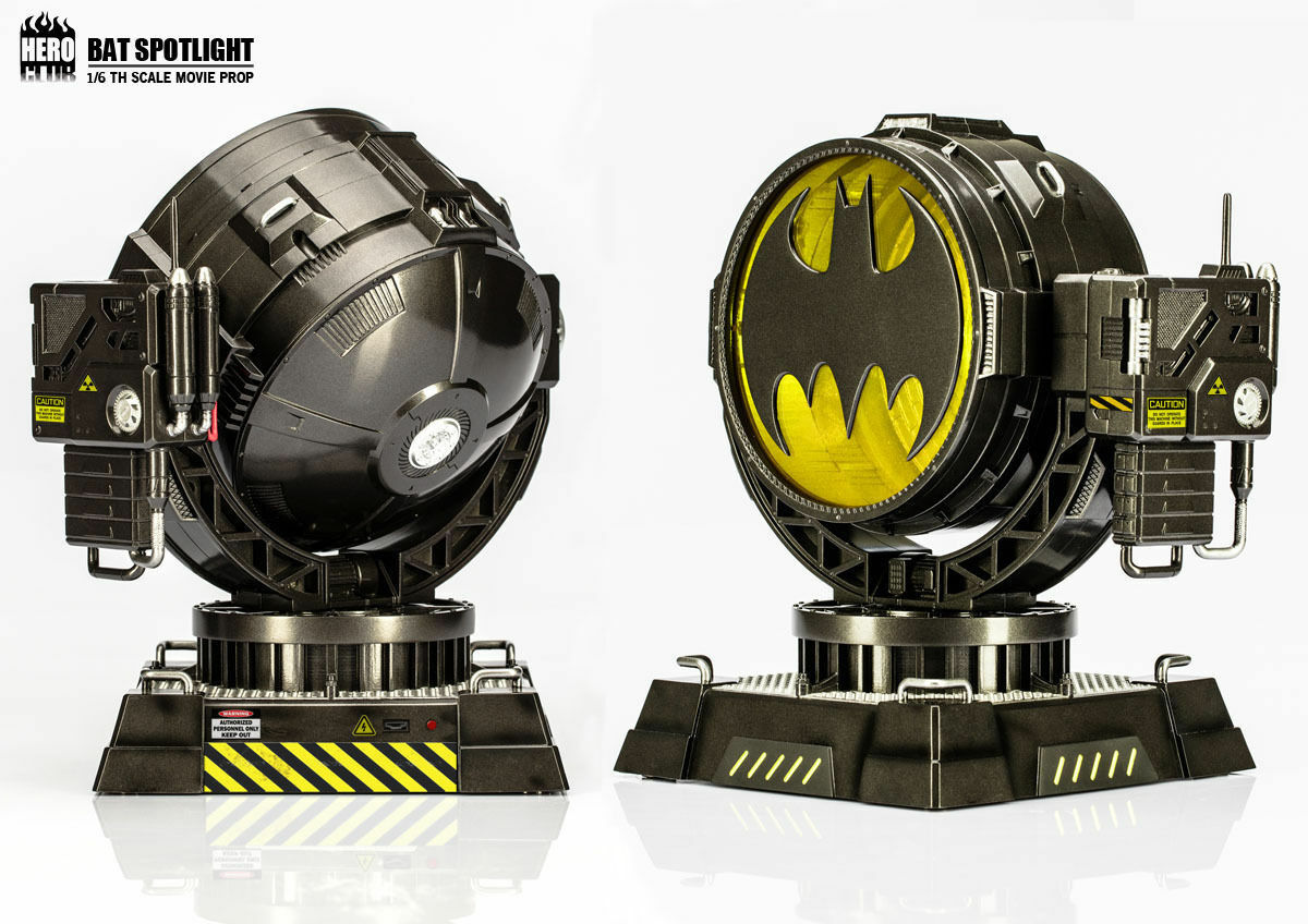 HeroClub 1/6TH Scale Batman Movie Prop BAT SPOTLIGHT Hot Selling