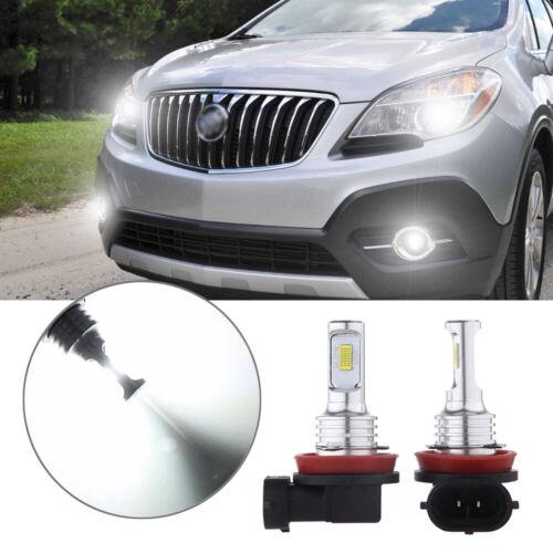 2X H11 H8 H9 LED Headlight Bulb Kit High Low Beam 70W 8000LM 6000K White Light