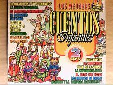 BOITIER 2 CD RARE / LOS MEJORES CUENTOS INFANTILES / NEUF SOUS CELLO